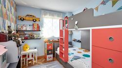 Vista General Dormitorio Infantil