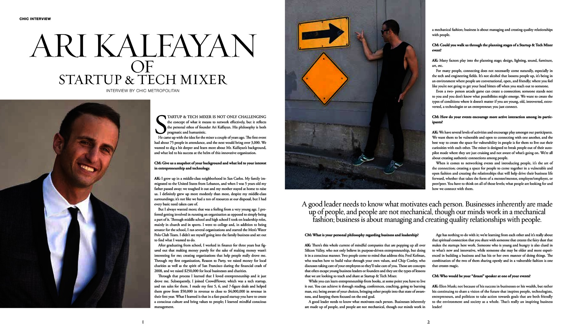 Ari Kalfayan Interview