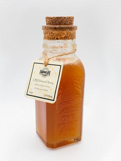 CBD Infused Honey 2000mg