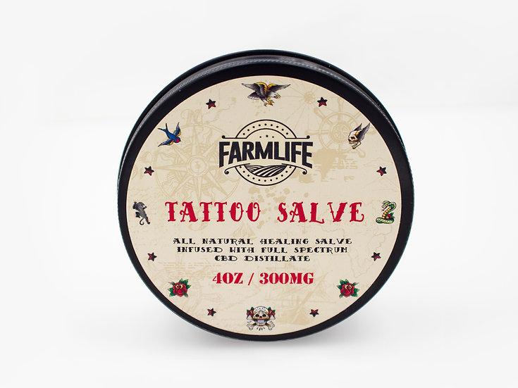 CBD Tattoo Salve 300mg