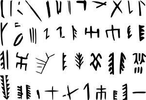 Origine della scrittura cinese