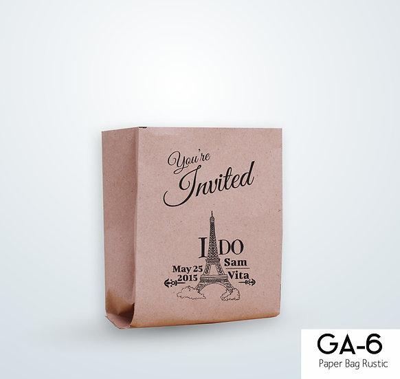 Paper Bag Rustic GA 6