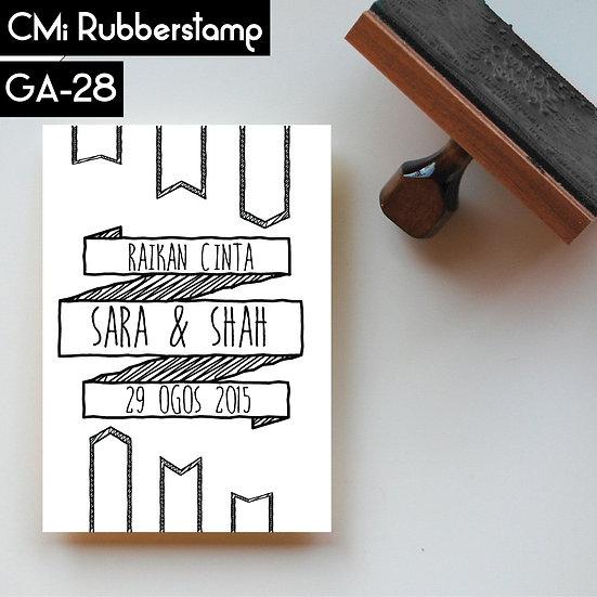 Rubberstamp GA 28