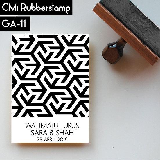 Rubberstamp GA 11