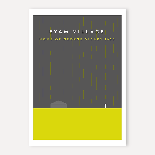 Eyam - Home of George Vicars 1665