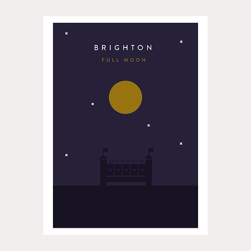 Brighton - Full Moon