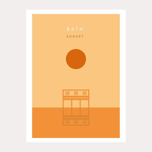 Bath - Sunset