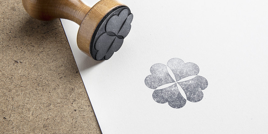 Heart of the Country Rubber Stamp
