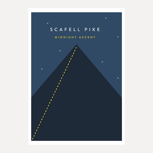 Scafell Pike - Midnight Ascent