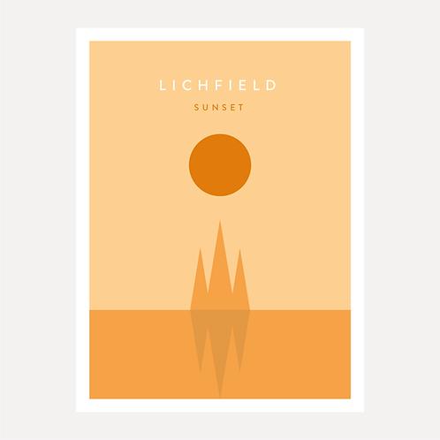 Lichfield - Sunset
