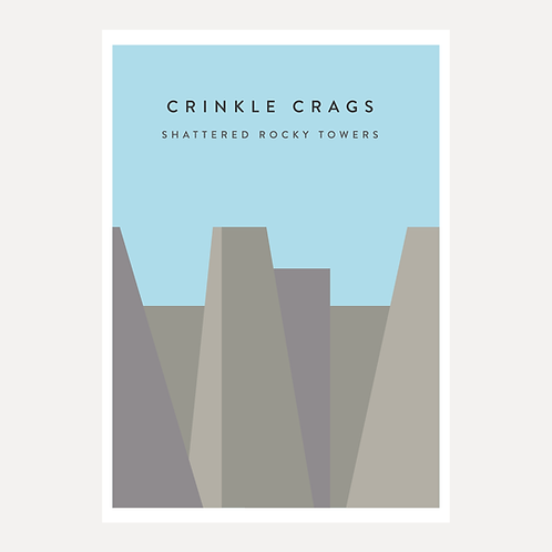 Crinkle Crags - Shattered Rocky Towers