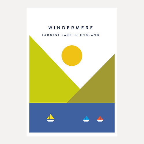 Windermere - Largest Lake in England