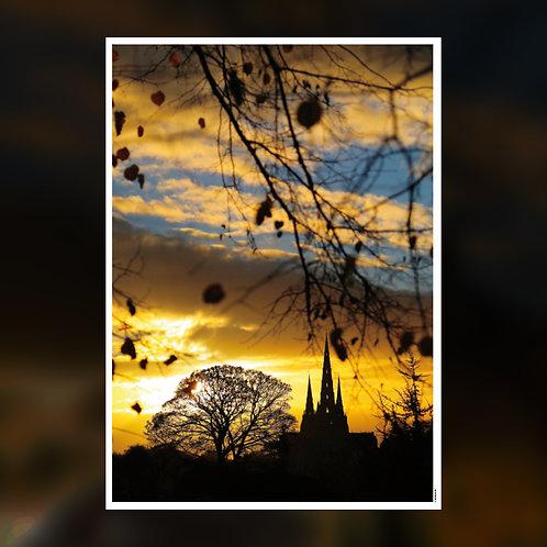 Lichfield Fading Sky