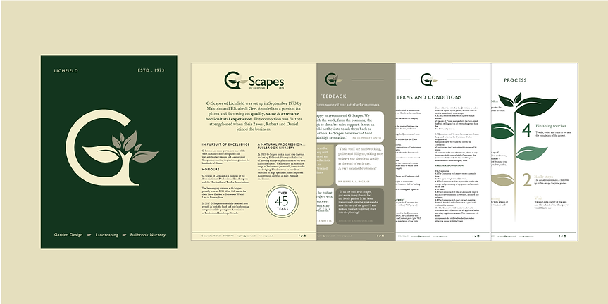G-Scapes Project Sheet