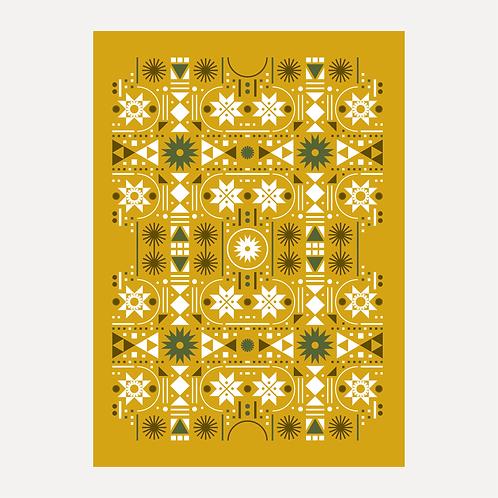 Folk Art - Gold