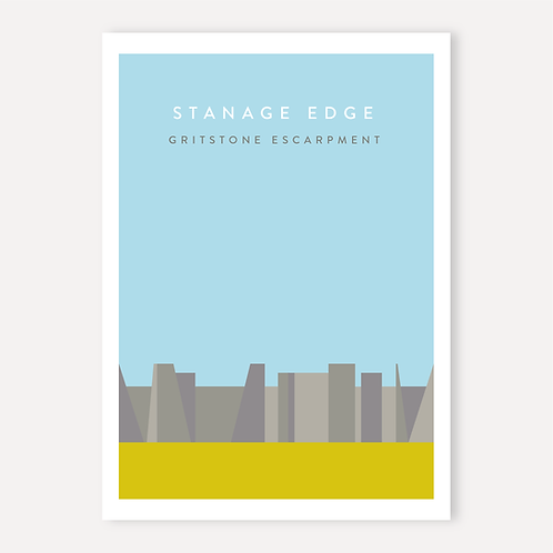 Stanage Edge - Gritstone Escarpment