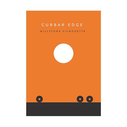 Curbar Edge - Millstone Silhouette