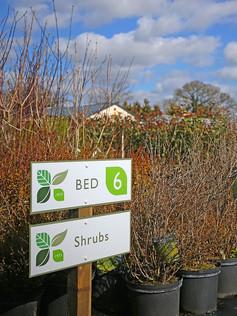 New Fullbrook Nursery signage