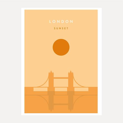 London - Sunset