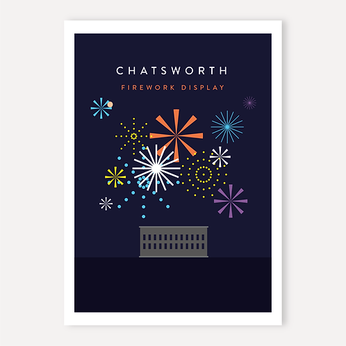 Chatsworth - Fireworks