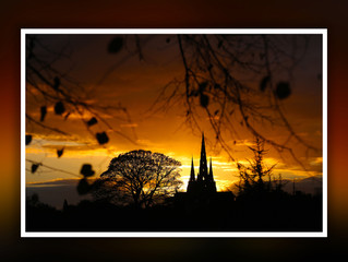 Lichfield | Winter Sunset