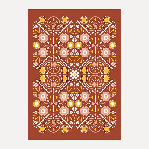 Folk Art - Red