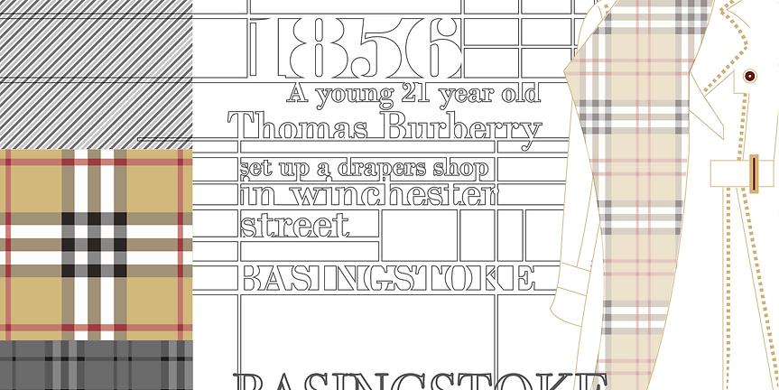 PizzaExpress Artwork Basingstoke Thomas Burberry