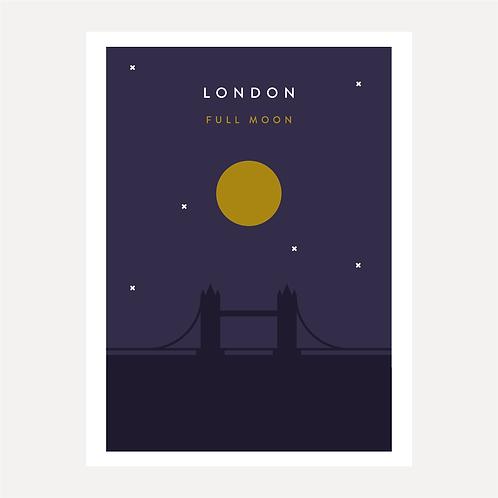 London - Full Moon