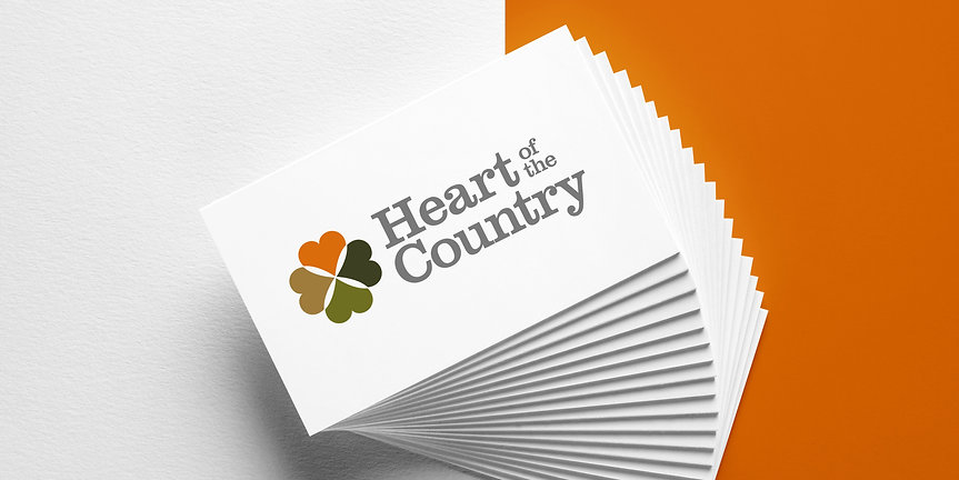 Heart of the Country Business Cards