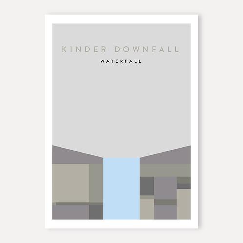 Kinder Downfall - Waterfall