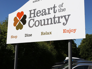 Heart of the Country Signage