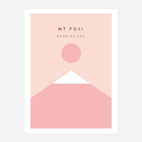 Mt Fuji - Morning Sun