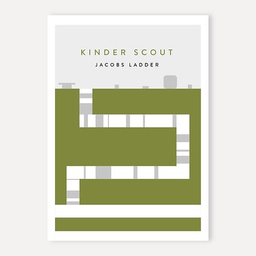 Kinder Scout - Jacobs Ladder