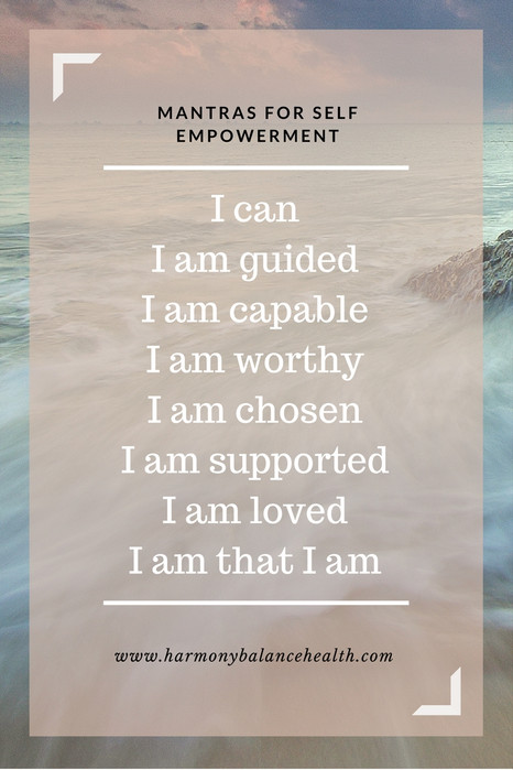 Mantras for Self Empowerment