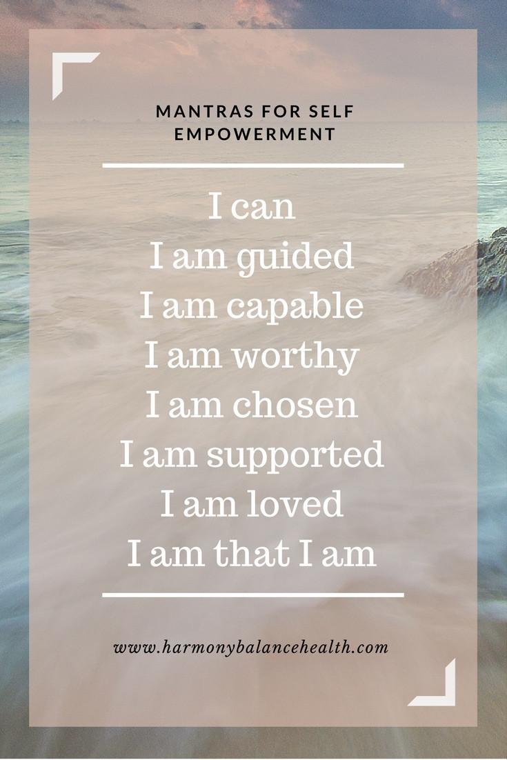 Mantra for self empowerment