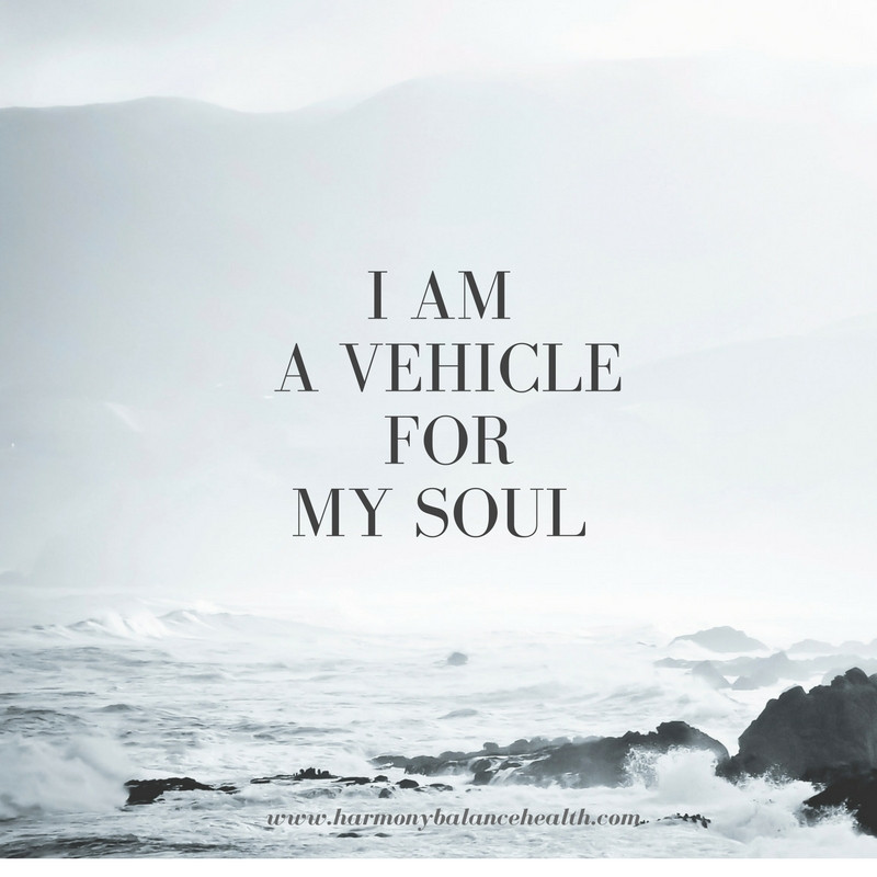 I am a vehicle for my Soul