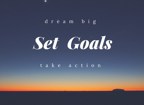 Setting Goals in 2017