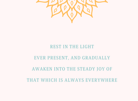 Rest in the Light