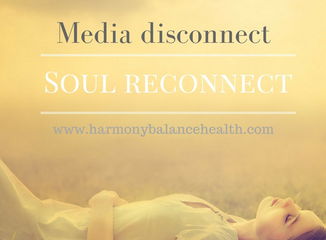 Media disconnect, Soul reconnect