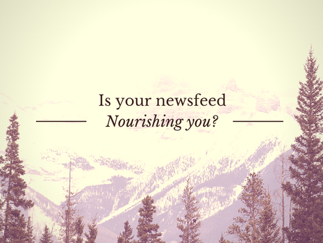 What do you feed your consciousness?