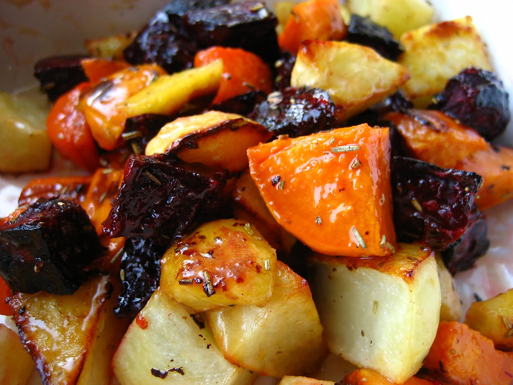 Roasted spiced Vegetables
