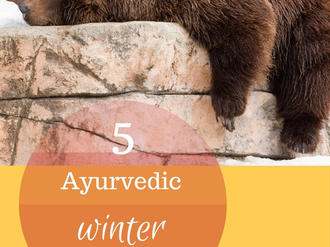 5 Ayurvedic tips to have more energy in winter