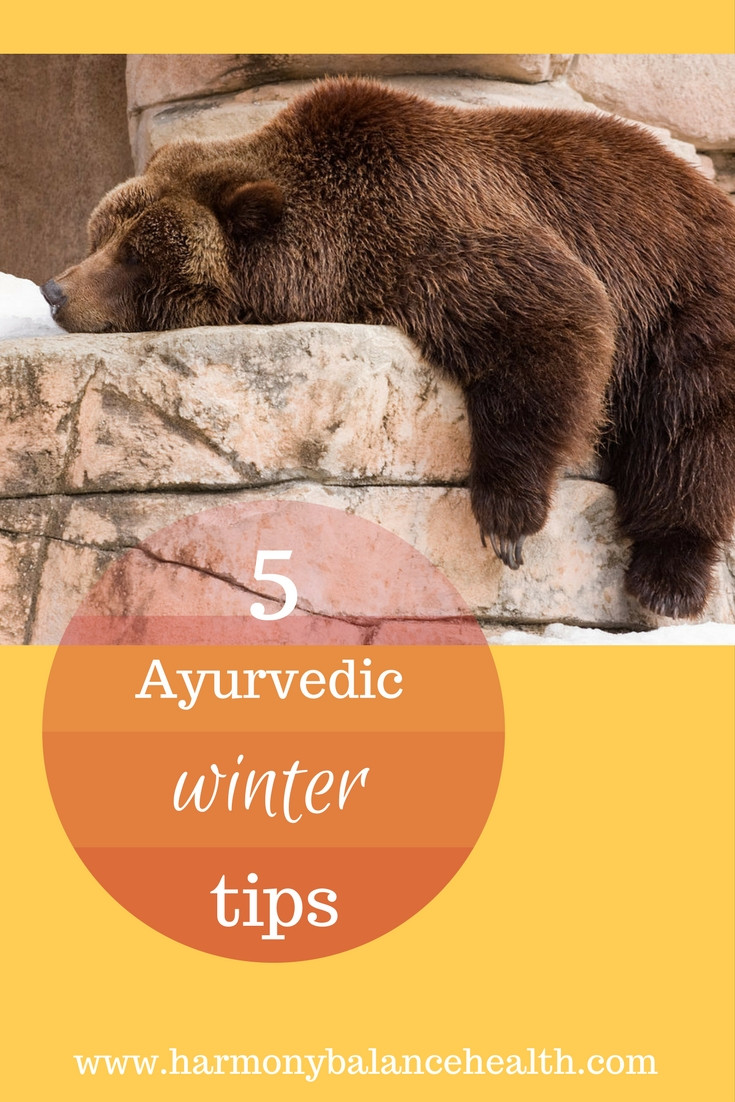 5 Ayurvedic tips to have more energy this winter