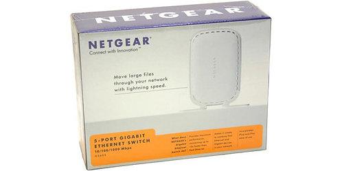 Netgear GS605 5-Port Gigabit Ethernet Switch