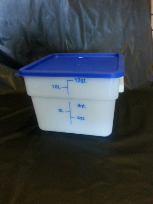 Food Storage Container 12 QT with LID
