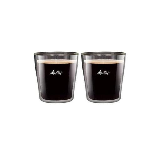 Melitta Espressoglas 0.8 dl, 2 Stück, Transparent