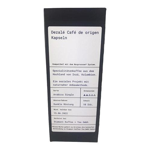 "Kapseln Dezalé ""Nespresso kompatibel"""