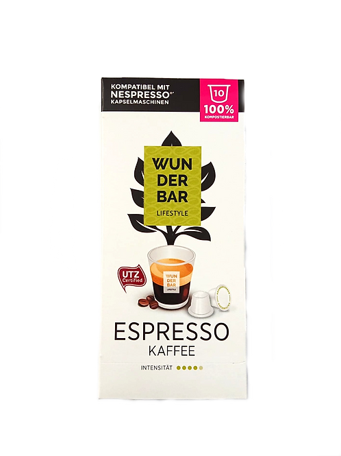 Wunderbar Espresso 100% Kompostierbar