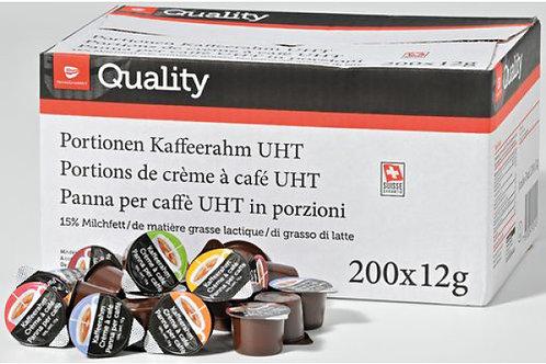Portionen Kaffeerahm UHT