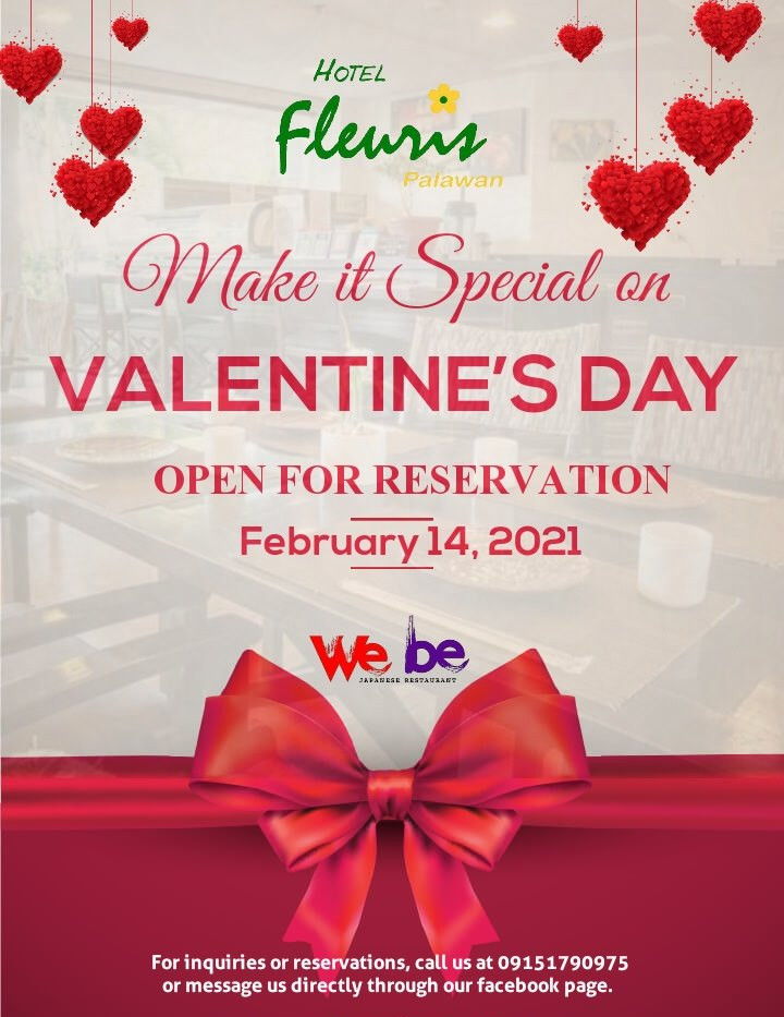 Reserve your table today!